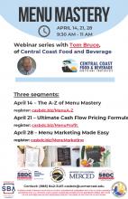 Menu Mastery Webinar