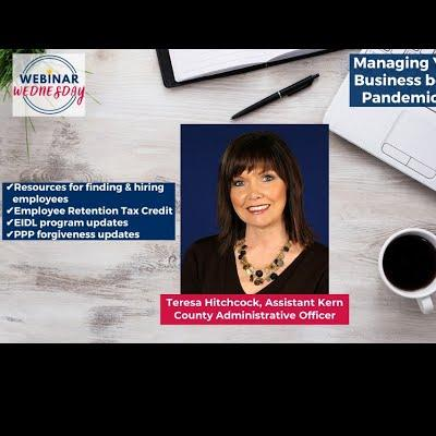 Managing Your Small Business Beyond the Pandemic - 6/16/2021